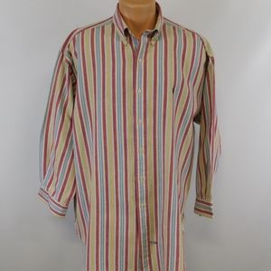 Ralph Lauren long sleeve button down shirt.  L
